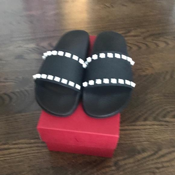 Valentino Shoes - Valentino Rockstud Pool slide